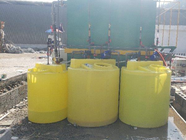 飞速直播间nba沉淀一体机,贵州铜仁塑料加工厂安装现场